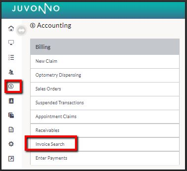 juvonno_pay_invoice_accounting_invoice_search.JPG