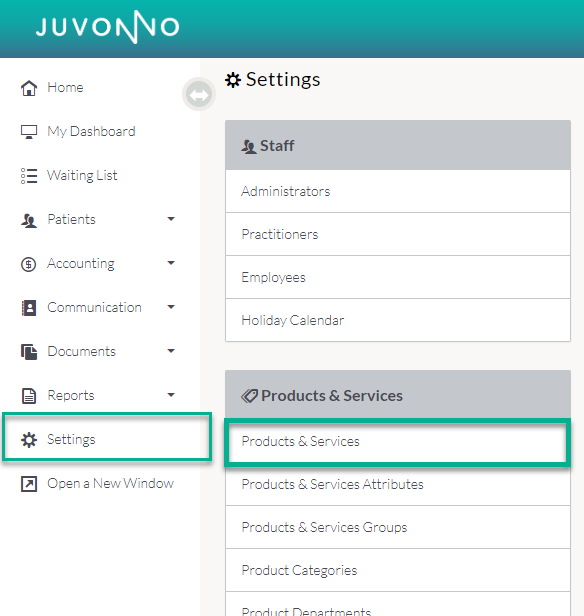 Juvonno_Settings_Products_and_Services.png